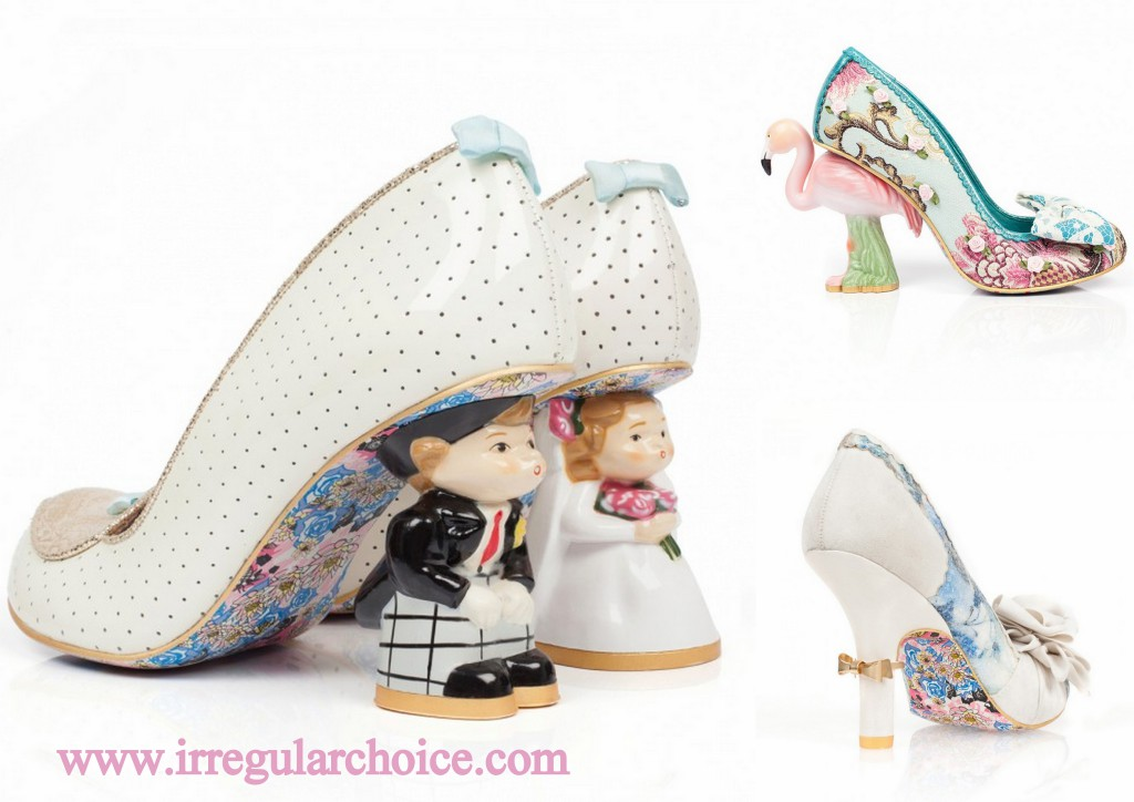 shoes alice blue wedding