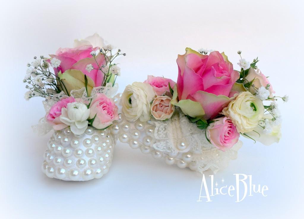Botoșei cu flori Botez
