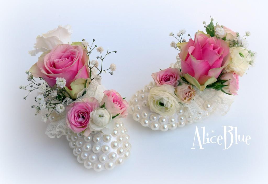 Botoșei cu flori
