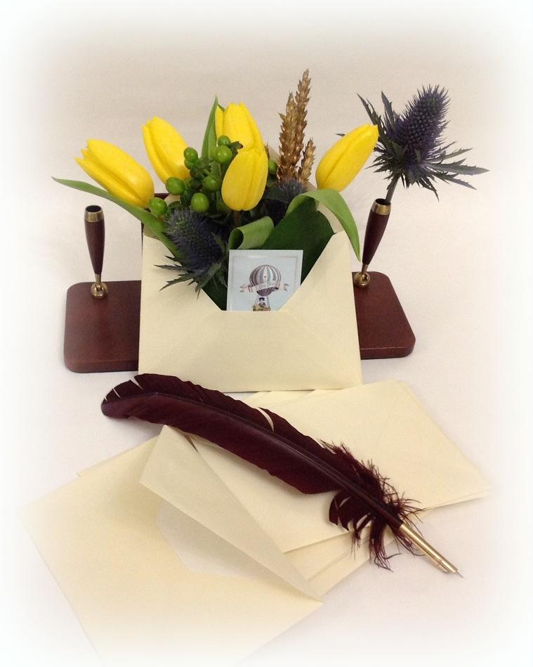 Scrisoare cu lalele galbene