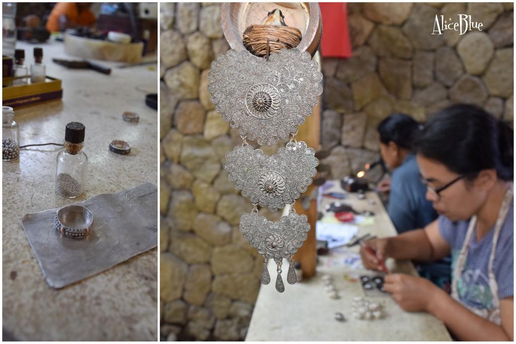 Bali atelier argint Alice Blue