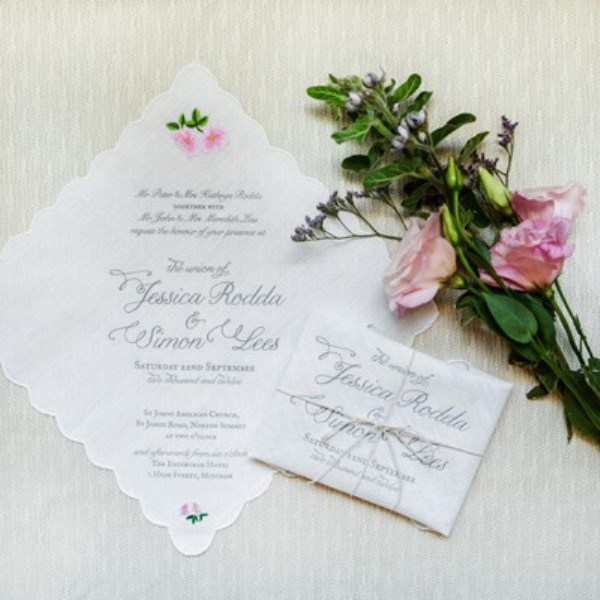 Garden-Inspired-Handkerchief-Wedding-Invitation