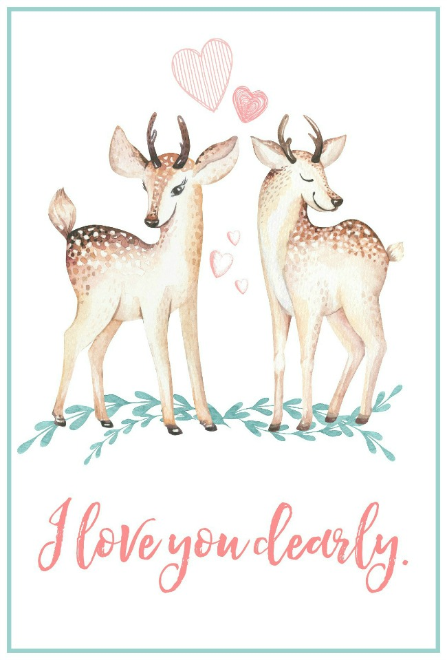 Free-Printable-Valentines-Day-Card-deer-1