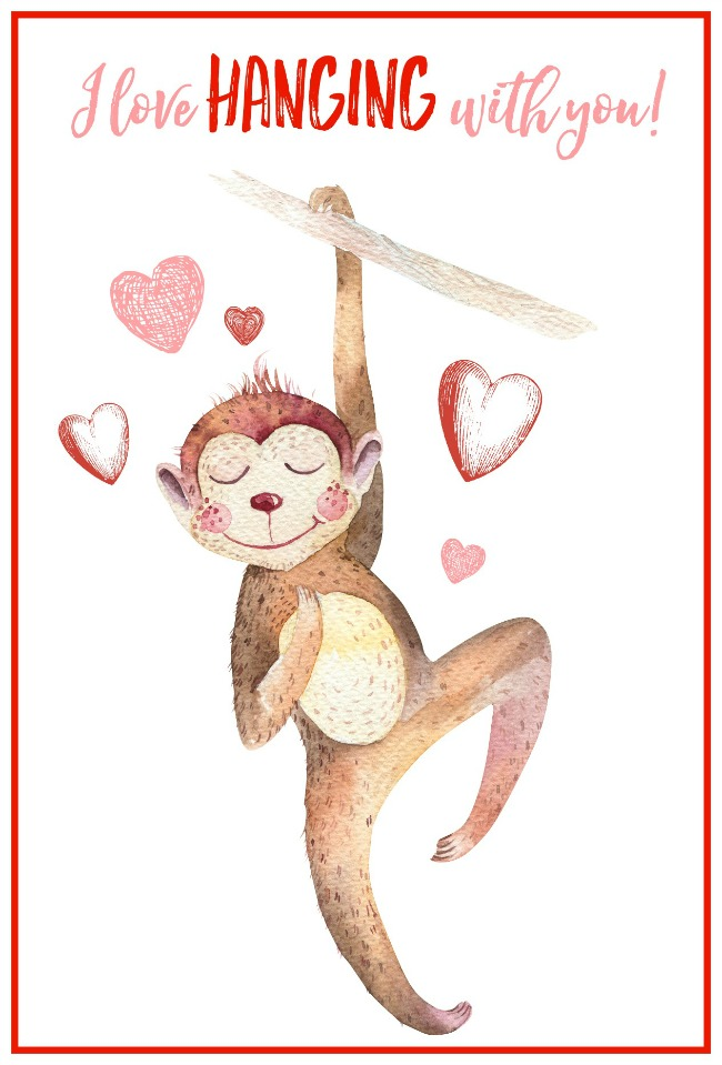 Free-Printable-Valentines-Day-Cards-monkey
