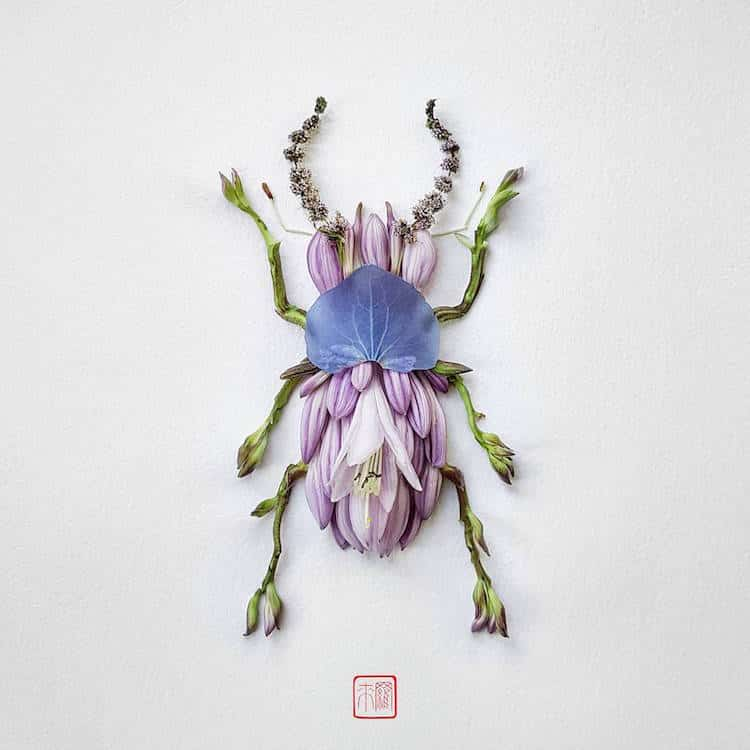 raku-inoue-insect-art-floral-arrangements-1