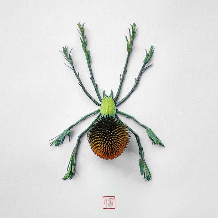 raku-inoue-insect-art-floral-arrangements-10